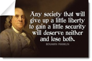 ben-franklin-liberty-security-lose-both-poster